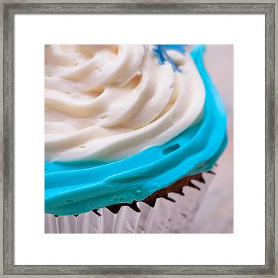 Cup Cake Framed Print