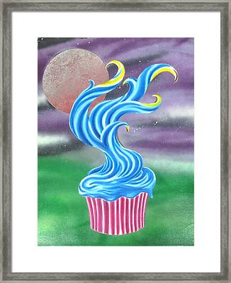 Cup Cake Tree Framed Print by Nathan Wilson