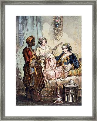 Cup Of Coffee, 1858 Framed Print by Amadeo Preziosi