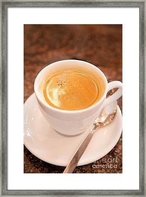 Cup Of Coffee Framed Print by Iris Richardson