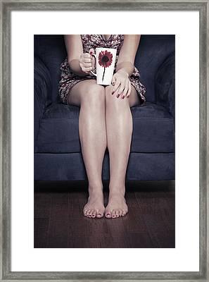 Cup Of Coffee Framed Print by Joana Kruse
