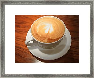 Cup Of Coffee Framed Print by Matthias Hauser