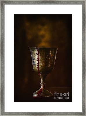 Cup Runneth Over Framed Print by Margie Hurwich