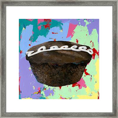 Cupcake #3 Framed Print by David Palmer