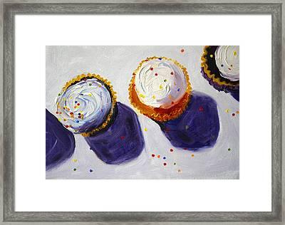 Cupcake Convention Framed Print by Nancy Merkle