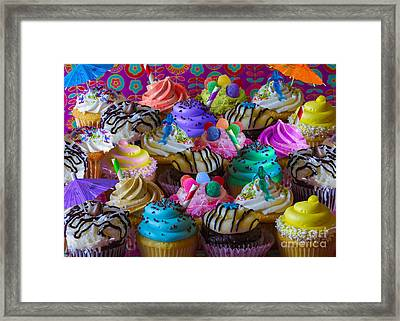 Cupcake Galore Framed Print by Aimee Stewart