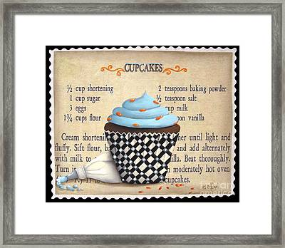 Cupcake Masterpiece Framed Print by Catherine Holman