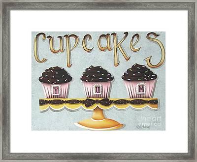 Cupcake Yum Framed Print