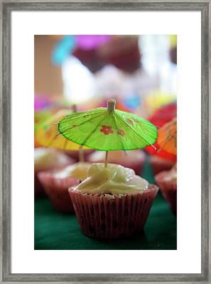 Cupcakes Framed Print by Douglas Peebles