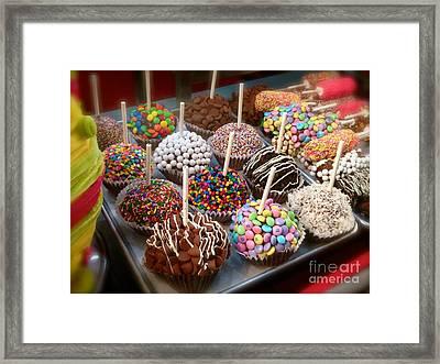 Cupcakes Galore Framed Print