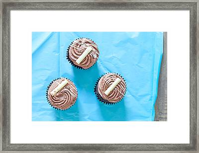 Cupcakes Framed Print by Tom Gowanlock