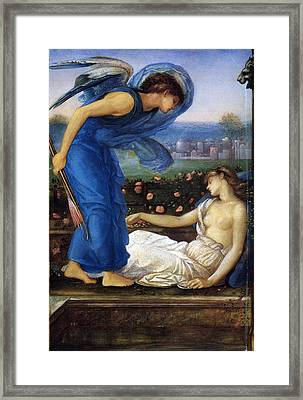 Cupid Finding Psyche Framed Print