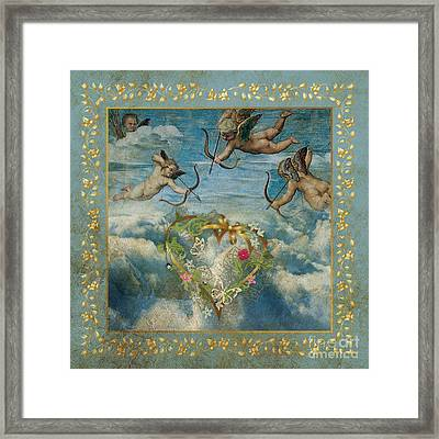 Cupid Framed Print by Jolanta Meskauskiene