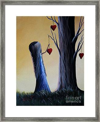 Cupid's Tree By Shawna Erback Framed Print
