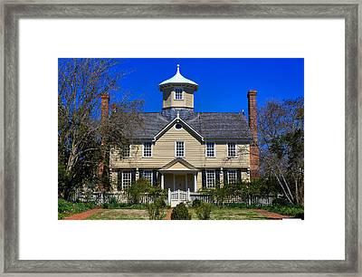 Cupola House Framed Print by Carolyn Ricks