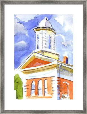 Cupola Framed Print by Kip DeVore