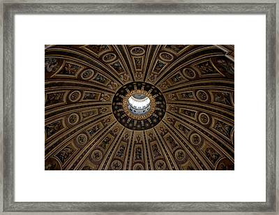 Cupola Saint Petri Gloriae Framed Print by Ivete Basso Photography
