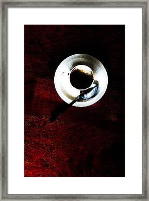 Cupp Framed Print by Leon Hollins III