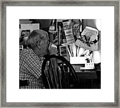 Cuppa Framed Print by Jp Grace