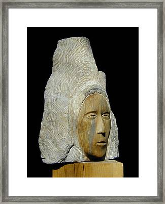 Curandera Framed Print by Manuel Abascal