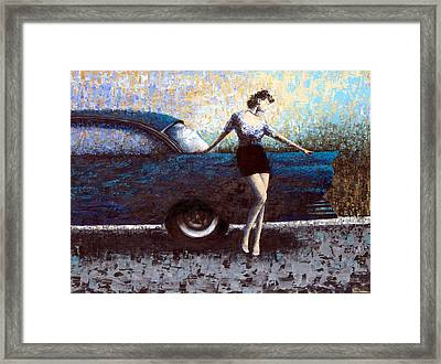 Curb Appeal Framed Print by Ned Shuchter