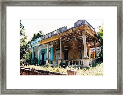 Curbside Appeal Framed Print