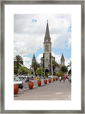 Curepipe Framed Print