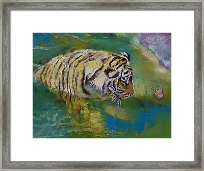 Curiosity Framed Print by Michael Creese
