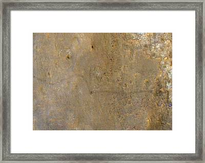 Curiosity Rover Viewed From Space Framed Print by Nasa