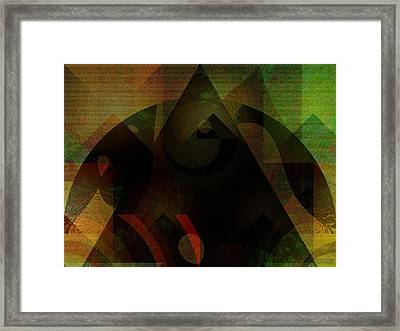 Curiosity Smelled A Rat Framed Print by Mimulux patricia no No