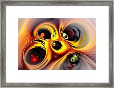 Curious Framed Print by Anastasiya Malakhova