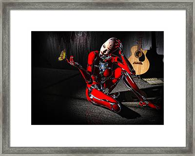 Curious Framed Print by Bob Orsillo