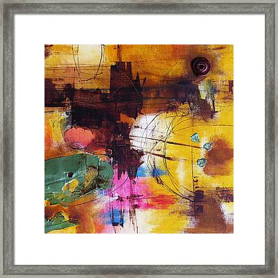 Curious Framed Print by Katie Black