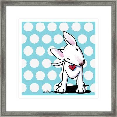 Curious Little Bully Framed Print