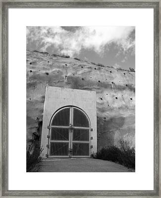 Curious Passage Framed Print