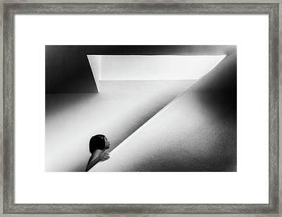 Curiozity Framed Print