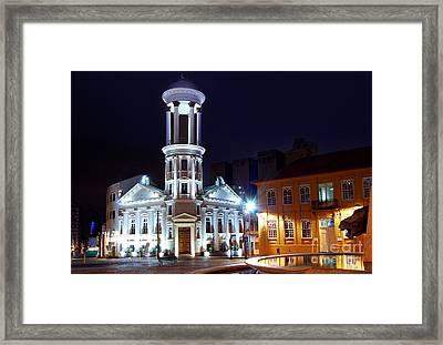 Curitiba - Centro Historico Framed Print
