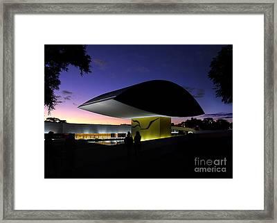 Curitiba - Museu Oscar Niemeyer Framed Print