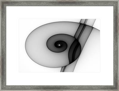 Curl No. 1 Framed Print by Mark Eggleston