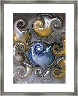 Curlicue II Framed Print