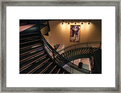 Curly's Stairway Framed Print by Bill Pevlor