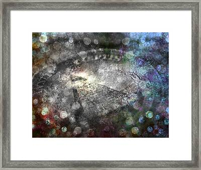 Framed Print featuring the digital art Currency by Bruce Rolff
