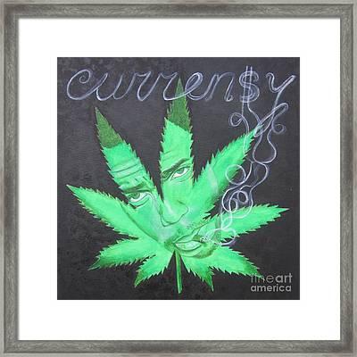 Currensy Framed Print