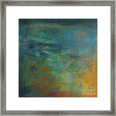 Current No. 2 Framed Print by Melody Cleary