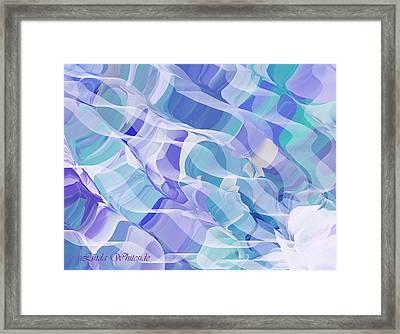 Currents Framed Print