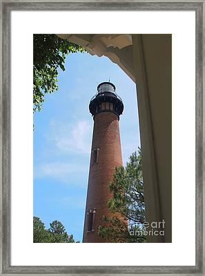 Currituck Light 2 Framed Print