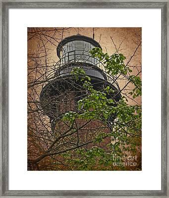Currituck Light House Framed Print