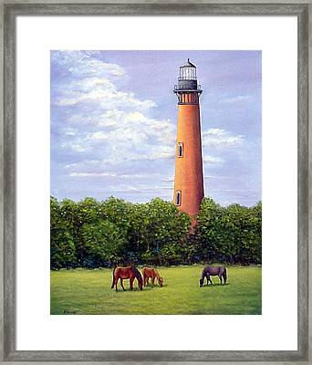 Currituck Lighthouse Framed Print