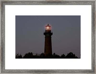 Framed Print featuring the photograph Currituck Lighthouse by Greg Reed