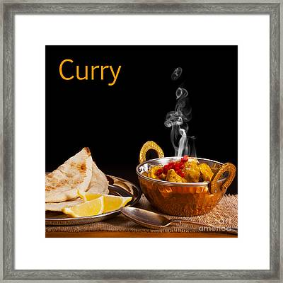 Curry Concept Framed Print by Colin and Linda McKie